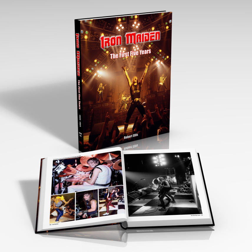 IRON%20MAIDEN-The%20First%20Five%20Years Book