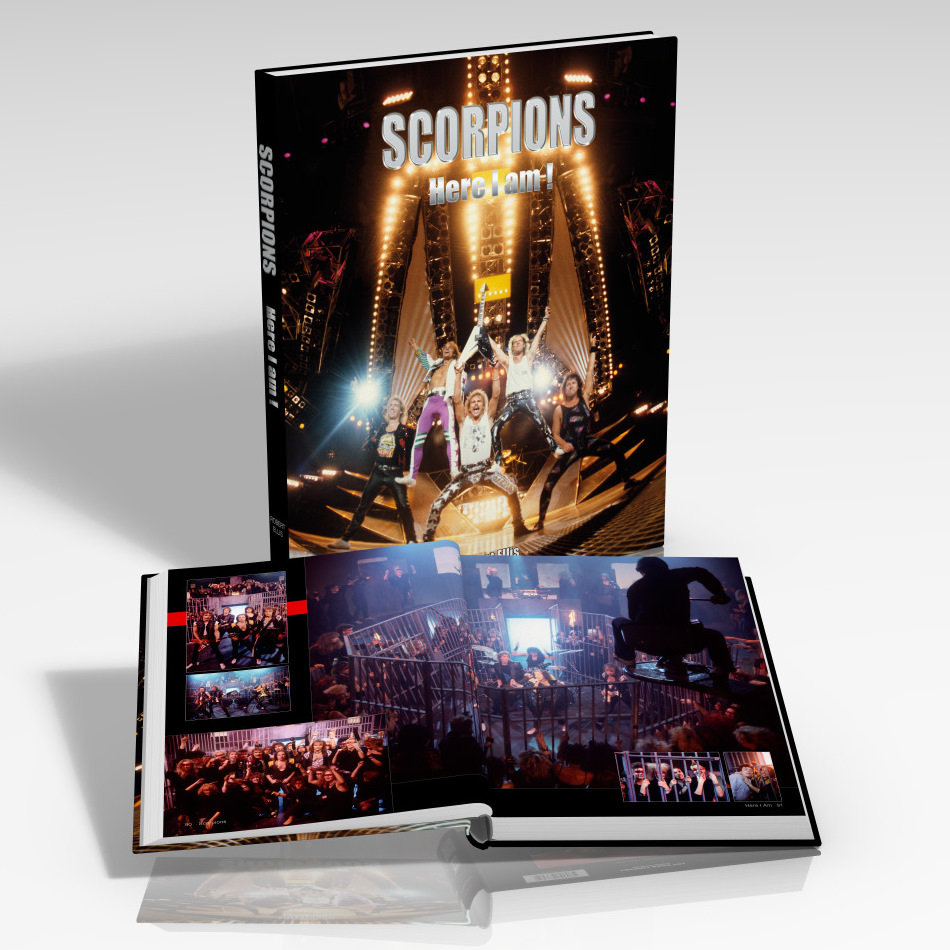 SCORPIONS-Here%20I%20Am! Book